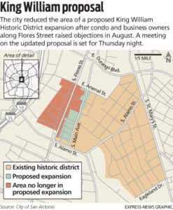 Proposed King William Historic District Expansion